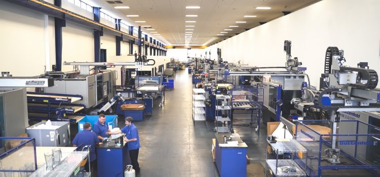 Laszeray's ISO-certified, fully temperature-controlled facility