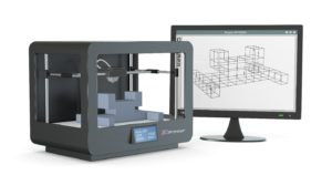 3D printer and monitor